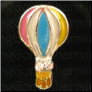 Hot Air Balloon  Alloy Floating Locket charm