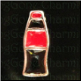 Soda Coke Bottle  Alloy Floating Locket charm