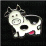 Cow Pink Udder  Floating Locket charm