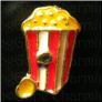 Popcorn Theatre  Floating Locket charm