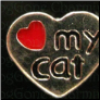 I love my Cat Alloy Floating Locket charm