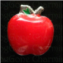 Red Apple Shiny Teacher  Floating Locket charm