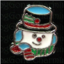 Snowman Scarf Hat    Alloy  Floating Locket charm