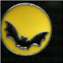 Bat & Moon  Halloween   Alloy  Floating Locket charm