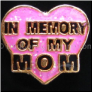 In Memory of My Mom Floating Locket Charm