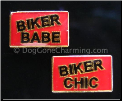 Biker Chic Biker Babe (Pick One)  Floating Locket Charm