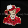 Lady in Red Floating Locket Charm