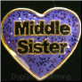 Middle Sister Floating Locket Charm