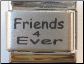 Friends 4Ever Laser Italian charm