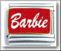 Barbie red Italian Charm