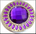 Purple Bling Purse Hook