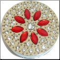 Red Bling Purse Hook