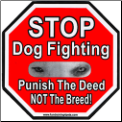 Stop Dog Fighting Magnet