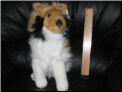 Sheltie Collie Dog Stuffed Animal