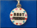 Best Friends   Zipper - Pull charm