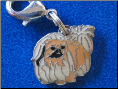 Dog Dangle Charm   Pekingnese Dog