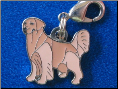 Dog Dangle Charm   Golden Retriever Dog