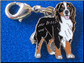 Dog Dangle Charm   Bernese Mountain Dog