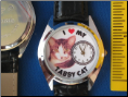 I Love my Tabby Cat watch