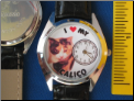 I Love my Calico Cat watch