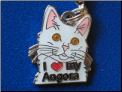 I love my Angora cat   Pull Charm