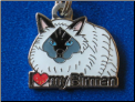 ZP charm   I love my Berman cat