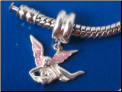 Dangle Angel European style Sterling Silver bead