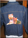 Denim Yorkie Jacket   size Small
