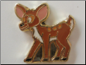 Bambi Deer Floating Locket Charm
