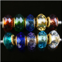 Birthstone Crystal Beads Gold Core