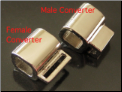 Converter Bail for Italian charms (male)