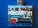 Lake Tahoe SteamBoat   Zipper - Pull charm