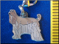 Dog Dangle Charm   Afghan Hound Dog 2 colors