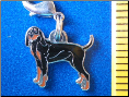 Dog Dangle Charm   Coon Hound Dog 2 colors!