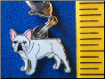 Dog Dangle Charm   French Bulldog Dog   2 colors!