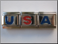 USA set of three letters