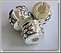 Floral Clip Stopper 925 Sterling European Bead