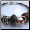 Bead shown in a gothic style bracelet!