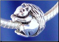 Squirrel Bead 925 Sterling Silver