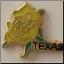 Yellow Rose of Texas Floating Locket Charm