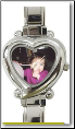 Custom Heart Italian charm watch