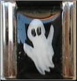 Ghost (Vertical)Hand painted!