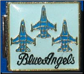 Blue Angels - 3 Jets Italian charm