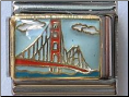 Golden Gate Bridge italian charm