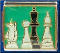Chess pieces   GREEN