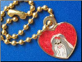 Dog Charm Dangle SHIH Tzu Red Heart