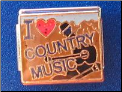 I Love Country Music   9 mm Italian charm