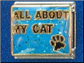 All About my CAT   Blue Italian charm