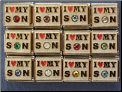I love my Son   Birthstone set of 12. Wholesale lot. Save!