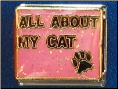 All about my CAT   Pink Italian charm